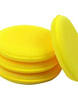 Недорогие -10 шт. Губка пва Губка Эластичный Плоские Желтый