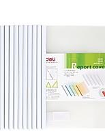 Недорогие -12 pcs deli 5534 Папки файлов A4 PP Прозрачный Custom Label