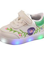 Недорогие -Мальчики / Девочки Обувь Полиуретан Весна & осень Удобная обувь / Обувь с подсветкой Кеды LED для Дети Черный / Красный / Зеленый