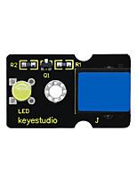 Недорогие -Keyestudio легко подключить желтый пиранья светодиодный модуль для Arduino