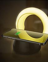 Недорогие -Brelong 2 в 1 мобильный телефон беспроводная зарядка быстрая зарядка затемняемый ночной свет 1 шт
