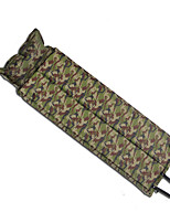 Недорогие -WOLF WALKER® Самонадувающийся спальный коврик Надувной матрас Походные подушки На открытом воздухе Походы Легкость Дожденепроницаемый Влагонепроницаемый ПВХ / винил Полиэфирно-льняная ткань