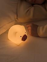 Недорогие -1шт LED Night Light Тёплый белый USB Творчество / Милый <=36 V