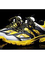 Недорогие -Муж. Комфортная обувь Искусственная кожа Весна & осень Кеды Черный / Серый / Красный