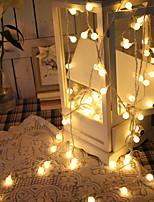 Недорогие -LED подсветка пластик Свадебные украшения Рождество / Для вечеринок Новогодняя тематика / Романтика / Креатив Все сезоны