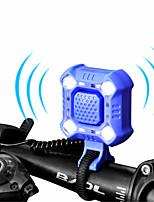 Недорогие -WEST BIKING® Звонок на велосипед Водонепроницаемость Легкость Светодиодные фонарики Перезаряжаемый Износостойкий Назначение Шоссейный велосипед Горный велосипед Велоспорт ABS Черный Оранжевый Синий
