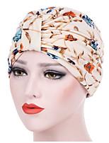 Недорогие -Жен. Классический Широкополая шляпа Однотонный / Цветочный принт