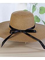 Недорогие -Жен. Праздник Шляпа от солнца - Бант Контрастных цветов