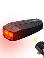 Недорогие -Велосипедные фары Задняя подсветка на велосипед Велоспорт Водонепроницаемый Простота транспортировки Прочный Литиевая батарея 120 lm Встроенная литий-батарея Аккумуляторные батарейки Красный