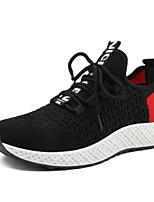 Недорогие -Муж. Комфортная обувь Сетка Весна Кеды Белый / Черный / Серый