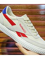 Недорогие -Муж. Комфортная обувь Синтетика Лето Кеды Черный / Красный / Зеленый
