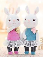 Недорогие -Metoo Rabbit Мягкие и плюшевые игрушки Животные Очаровательный Нетканые Хлопок Все Игрушки Подарок 1 pcs