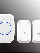 Недорогие -Беспроводное Двойной к одному дверному звонку Музыка / Дзынь-дзынь Невизуальные дверной звонок Крепеж на поверхности