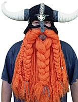 Недорогие -Пираты Викинг Шапки Косплей из фильмов Оранжевый Шапки Хэллоуин Карнавал Маскарад Хлопок