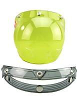 Недорогие -TKD-Bubble Lens Каска Взрослые Универсальные Мотоциклистам Противо-туманное покрытие / Защита от ветра / Anti-Dust