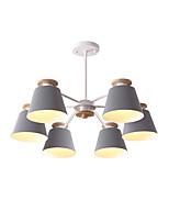 Недорогие -6-Light Спутник Люстры и лампы Потолочный светильник Окрашенные отделки Металл Новый дизайн 110-120Вольт / 220-240Вольт