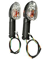 Недорогие -Задний передний универсальный abmer поворотники огни для yamaha yzf r1 r6 fz1 fz6 xj6