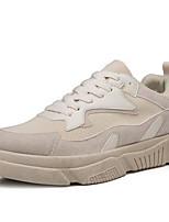 Недорогие -Муж. Комфортная обувь Синтетика Весна & осень На каждый день Кеды Бежевый / Белый / синий