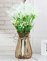Недорогие -Искусственные Цветы 0 Филиал Классический Стиль Modern Ваза Букеты на стол