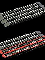 Недорогие -0.44 m Автомобильная бамперная лента для Передний бампер автомобиля / Автомобильный задний бампер внешний Общий Ластик Назначение Универсальный Все года Все модели