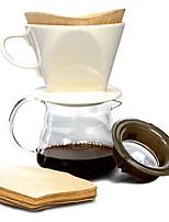 Недорогие -Дерево Креатив Одноразового использования Телесный нерегулярный 10 шт. Фильтр для кофе