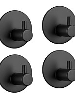Недорогие -Набор аксессуаров для ванной / Держатель для полотенец / Крючок для халата Самоклеющиеся Античный Нержавеющая сталь 4шт - Ванная комната На стену