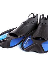 Недорогие -XUHAI Ласты Анти-скольжение Водонепроницаемый Прочный Плавание Дайвинг Для погружения с трубкой Силиконовые Эластотермопласт PP - для Взрослые Желтый Синий Цвет фуксии