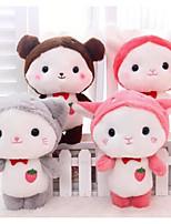 Недорогие -Rabbit Кошка Медведи Мягкие и плюшевые игрушки Животные Очаровательный Гусиное перо Все Игрушки Подарок 1 pcs