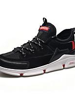 Недорогие -Муж. Комфортная обувь Микроволокно Весна & осень Кеды Белый / Черный / Серый
