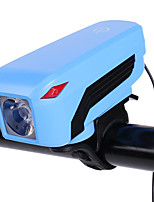 Недорогие -- Велосипедные фары Лампа Задняя подсветка на велосипед LED Горные велосипеды Велоспорт Портативные Прочный 18650 320 lm USB Внешний источник питания Белый / АБС-пластик