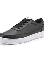 Недорогие -Муж. Комфортная обувь Синтетика Весна & осень Кеды Белый / Черный
