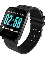 Недорогие -A6 Смарт Часы Android iOS Bluetooth Smart Спорт Водонепроницаемый Пульсомер Педометр Датчик для отслеживания сна Сидячий Напоминание Секундомер Календарь