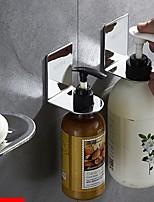 Недорогие -Крючок для халата / Мыльницы и держатели Новый дизайн / Cool / Многофункциональный Modern Нержавеющая сталь 3шт На стену