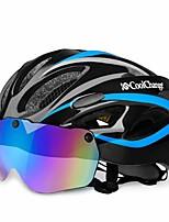 Недорогие -CoolChange Мотоциклетный шлем / BMX Шлем 20 Вентиляционные клапаны CE EN 1077 Легкий вес, Сетка от насекомых, Формованный с цельной оболочкой ESP+PC Виды спорта На открытом воздухе / Мотобайк -
