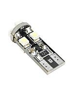 Недорогие -1 шт. T10 Автомобиль Лампы 5 W SMD 3528 8 Светодиодная лампа Подсветка для номерного знака / Задний свет / Внутреннее освещение Назначение
