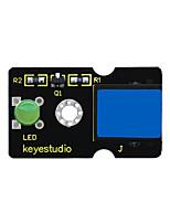 Недорогие -Keyestudio легко подключить зеленый пиранья светодиодный модуль для Arduino (зеленый)