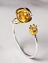 Недорогие -Маленький принц Le Petit Prince Жен. лакомство Кулон Кольцо Назначение Для вечеринок На каждый день Подарок Кольца Бижутерия / Серебристый