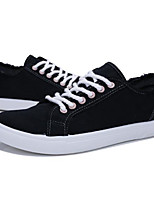 Недорогие -Муж. Комфортная обувь Полотно Весна Кеды Черный / Оранжевый / Зеленый