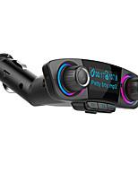 Недорогие -Bestsin Dual USB порты автомобильное зарядное устройство быстрое зарядное устройство Bluetooth 4.0 автомобильный mp3 FM модулятор большой светодиодный экран дисплеи
