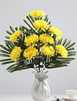 Недорогие -Искусственные Цветы 1 Филиал Классический Современный современный Хризантема Букеты на стол