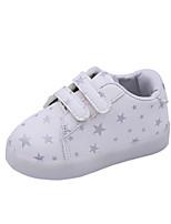 Недорогие -Мальчики / Девочки Обувь Искусственная кожа Весна & осень Удобная обувь / Обувь с подсветкой Кеды для Дети Белый / Черный / Розовый