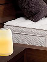 Недорогие -BRELONG® 1шт LED Night Light Белый USB Простота транспортировки / Украшение / прикроватный 5 V