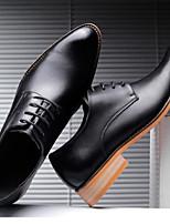 Недорогие -Муж. Обувь Bullock Резина / Кожа Весна лето Мокасины и Свитер Для прогулок Ботинки Черный