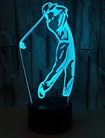 Недорогие -1шт LED Night Light Батарея с батарейкой Творчество 5 V