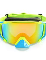 Недорогие -Универсальные Очки для мотоциклов Спорт С защитой от ветра / Противо-туманное покрытие / Защита от пыли Нейлоновое волокно / ABS + PC