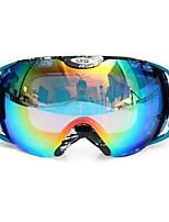 Недорогие -езда на мотоцикле противотуманные очки унисекс с двумя линзами на открытом воздухе сноуборд лыжные очки