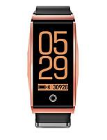 Недорогие -RH01 Смарт Часы Android iOS Bluetooth Спорт Водонепроницаемый Пульсомер Измерение кровяного давления Таймер Секундомер Педометр Напоминание о звонке Датчик для отслеживания активности