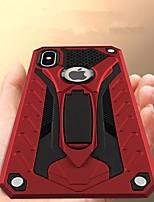 Недорогие -Кейс для Назначение Apple iPhone XR / iPhone XS Max Защита от удара / со стендом Кейс на заднюю панель броня Твердый ТПУ для iPhone XS / iPhone XR / iPhone XS Max