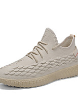 Недорогие -Муж. Комфортная обувь Tissage Volant Весна Кеды Дышащий Белый / Бежевый