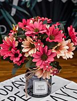 Недорогие -Искусственные Цветы 2 Филиал Классический Стиль Современный современный Ромашки Букеты на стол